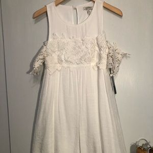 Casual dress white